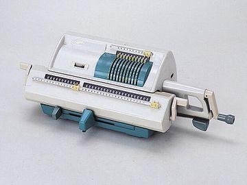 手回し計算機