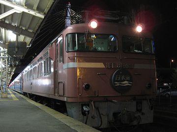 秋田駅に朝着く夜行なんて、あったかな?