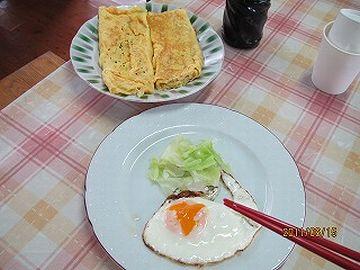 卵は、卵焼きか目玉焼き、どっちかになるわけでしょ?