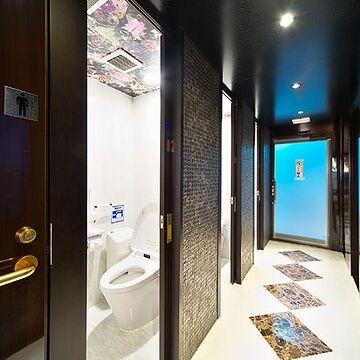 実際の屋形船のトイレ