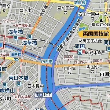 両国橋地図