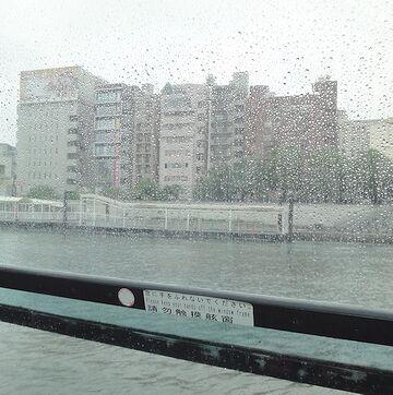 窓の水滴が恨めしい