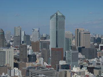 中央の高層ビルは、『虎ノ門ヒルズ』