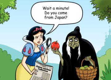 毒リンゴを与えた