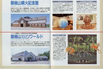 磐梯山噴火記念館と磐梯山3Dワールド