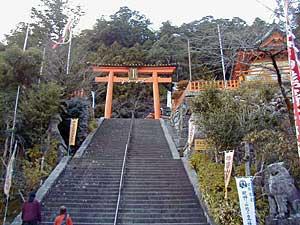 熊野大社の「二の鳥居」