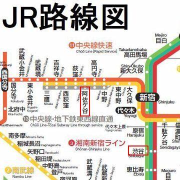 一番歩いたのは、渋谷から阿佐ヶ谷だったかな