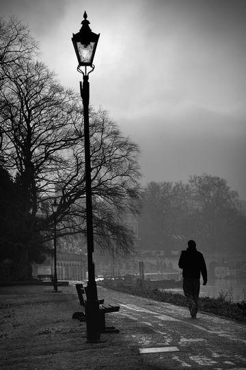 イギリス・リッチモンドの冬