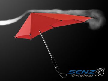 台風でもオチョコにならない傘