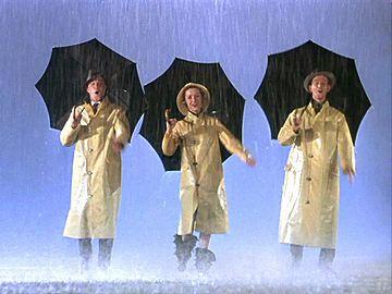 雨が降ってなくても、傘は必需品
