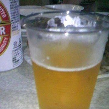 ビールが温い