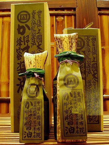 「醤油屋本店」かぼす蜂蜜醤油(650円)