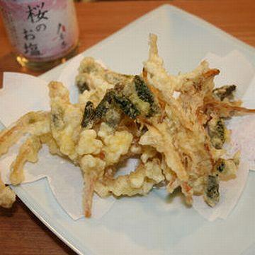 土筆の「天ぷら」