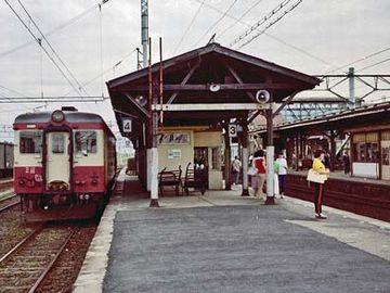 昭和52年8月20日の『川部駅』。なぜか懐かしい。