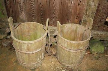二斗桶を2つ