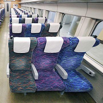 新幹線3人席