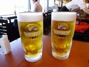 ビールは無いわけですな?