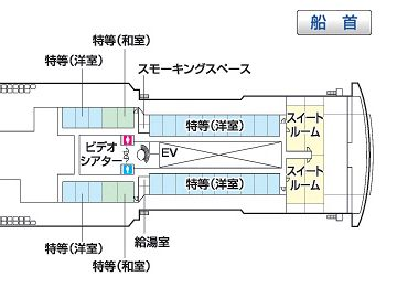 """""""あざれあ""""5階構造図"""