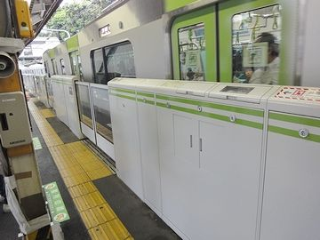 『日暮里駅』の山手線ホーム