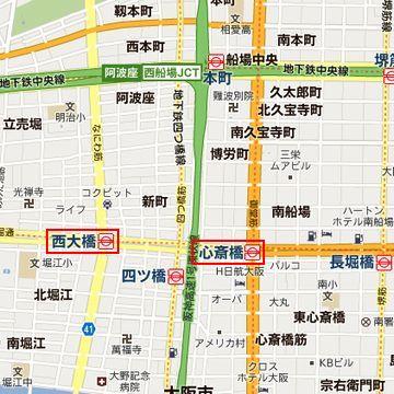 堀鶴見緑地線の『西大橋』が最寄り駅