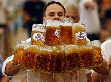 ただし、ビールはたくさん飲みます