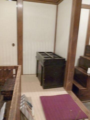 箱階段の位置がわかる写真