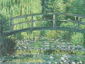 モネの庭の絵