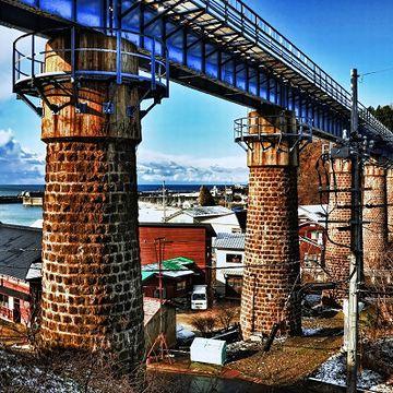 これが、『第2小入川橋梁』です