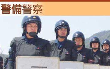 戒活動によって事件、事故を未然に防ぐのが警備警察です