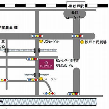 『松戸駅』西口から、徒歩7分