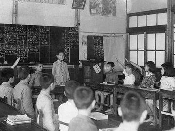 昭和28年の学級会