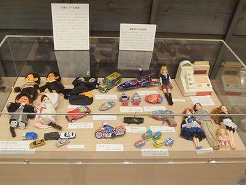葛飾区は、玩具産業が盛んだった