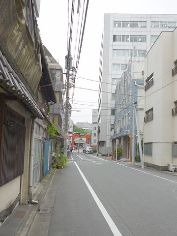 途中の小路