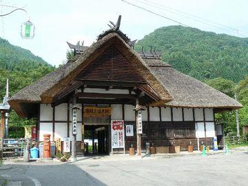 大内宿に行くとき下りた、湯野上温泉駅