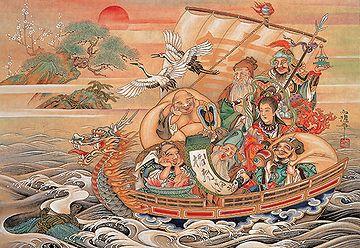 竹内白雅『蓬莱宝船』