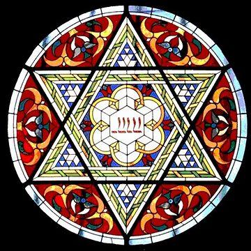これが、ユダヤの紋章である六芒星、いわゆる『ダビデの星』とそっくりなんです