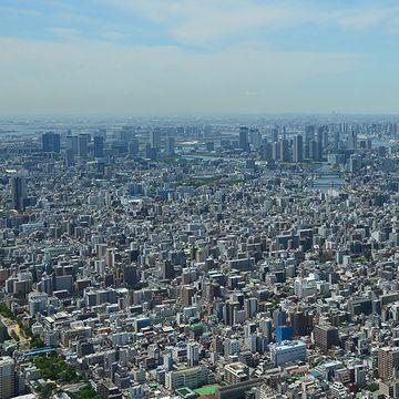 東京スカイツリーからの展望