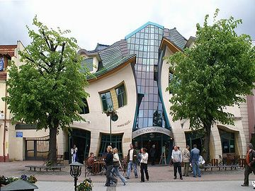 ポーランドにあるショッピングセンター