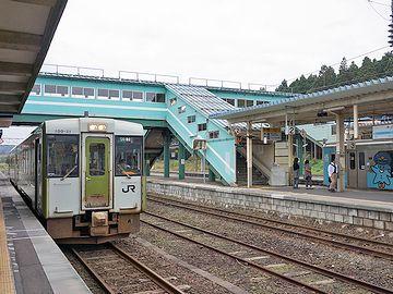 『野辺地』駅から大湊線に乗りこんだとき