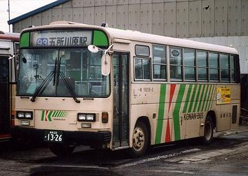 乗れるバスは、弘南バスだけです