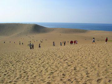 砂丘地とか?