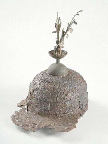 樹枝状の金属製装飾