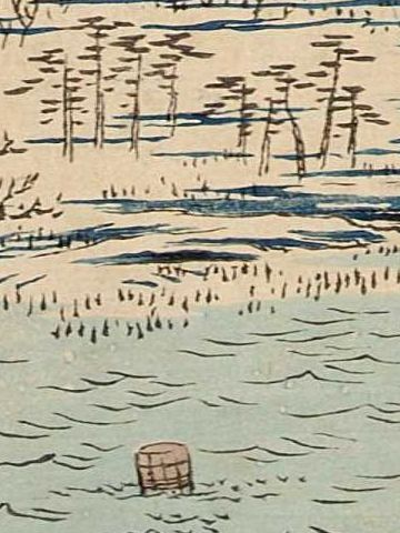 『深川洲崎十万坪』の桶