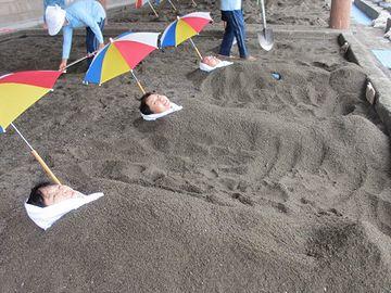 びっしり砂が詰まってるわけです