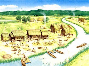 縄文時代。低湿地での暮らし
