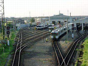 新津駅は、鉄道の一大拠点