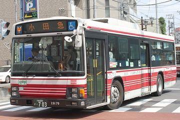 小田急バスのカラーリング