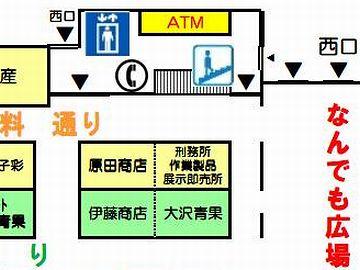 秋田市民市場・ATM