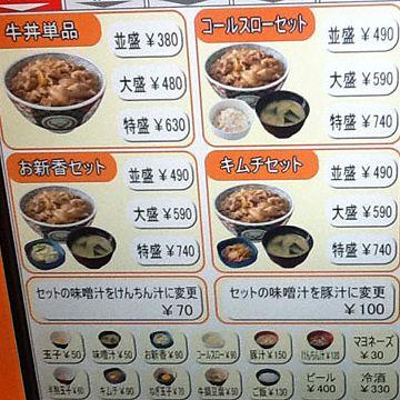 牛丼屋なら2杯食える値段で