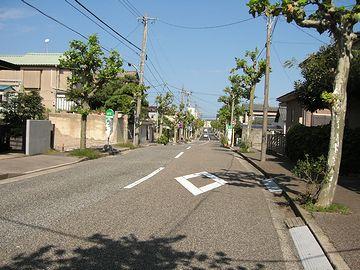 「せきとり」のあるあたり・昼間の窪田町